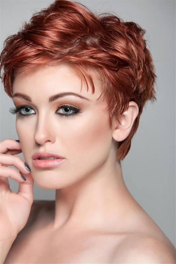 Kratka crvena kosa