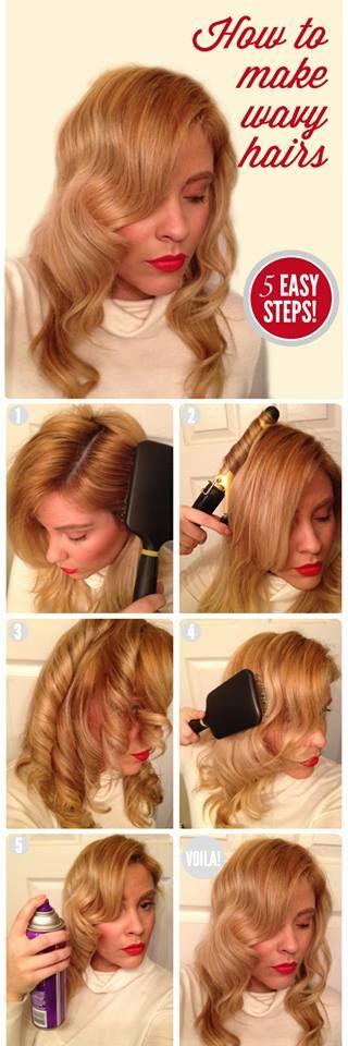 Kako napraviti valovitu kosu?