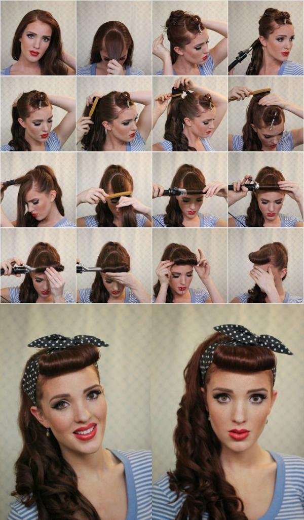 Najslađa pin up frizura