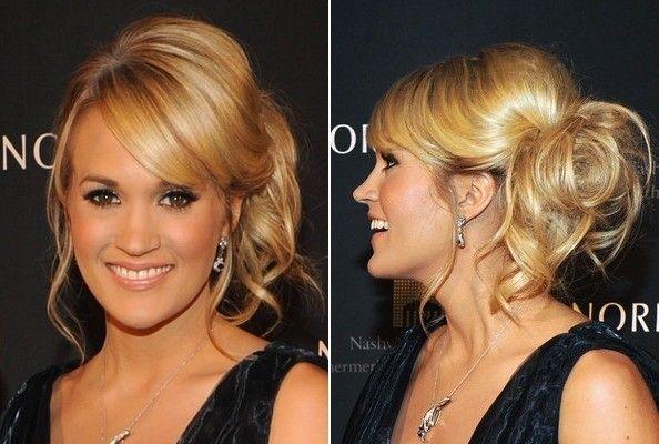 Carrie Underwood - frizura za maturalnu