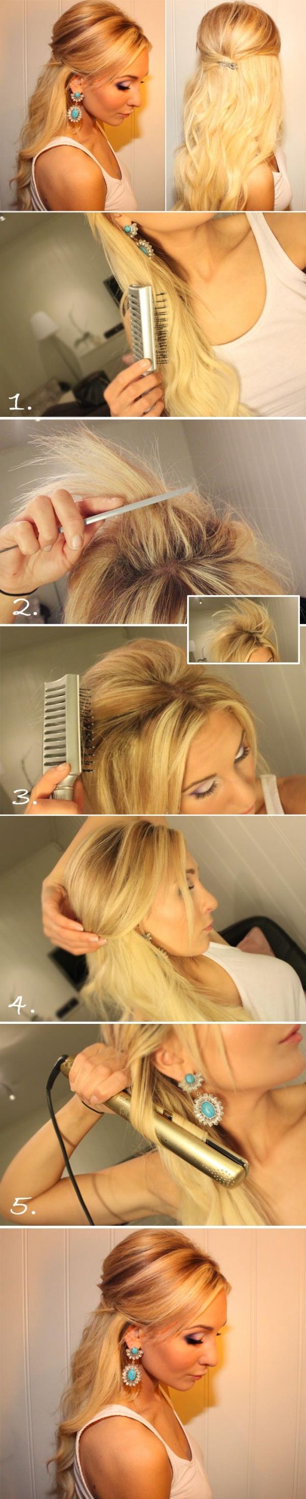 Napravi sama brzu i jednostavnu frizuru za dugu kosu