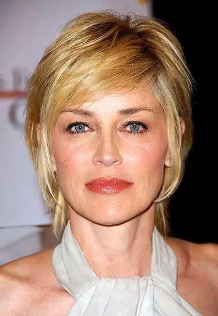Sharon Stone - glame kratka frizura