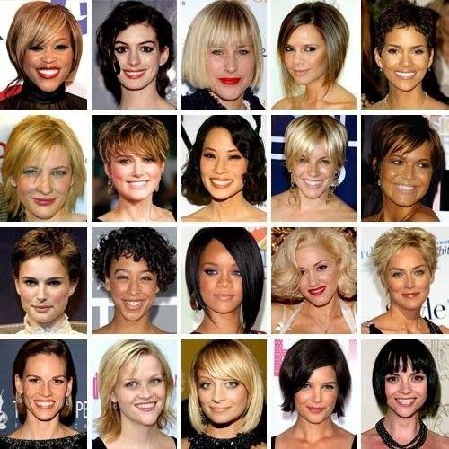 Kratke frizure slavnih
