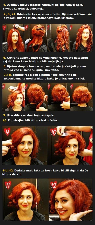 Kako napraviti kratku frizuru?