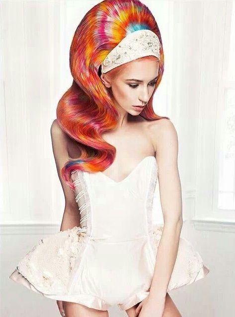 Šarena frizura