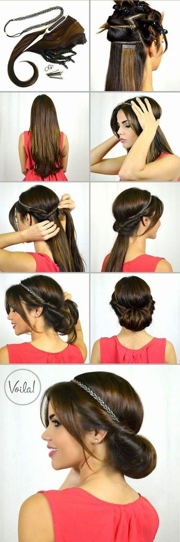Ekstenzije i traka za kosu