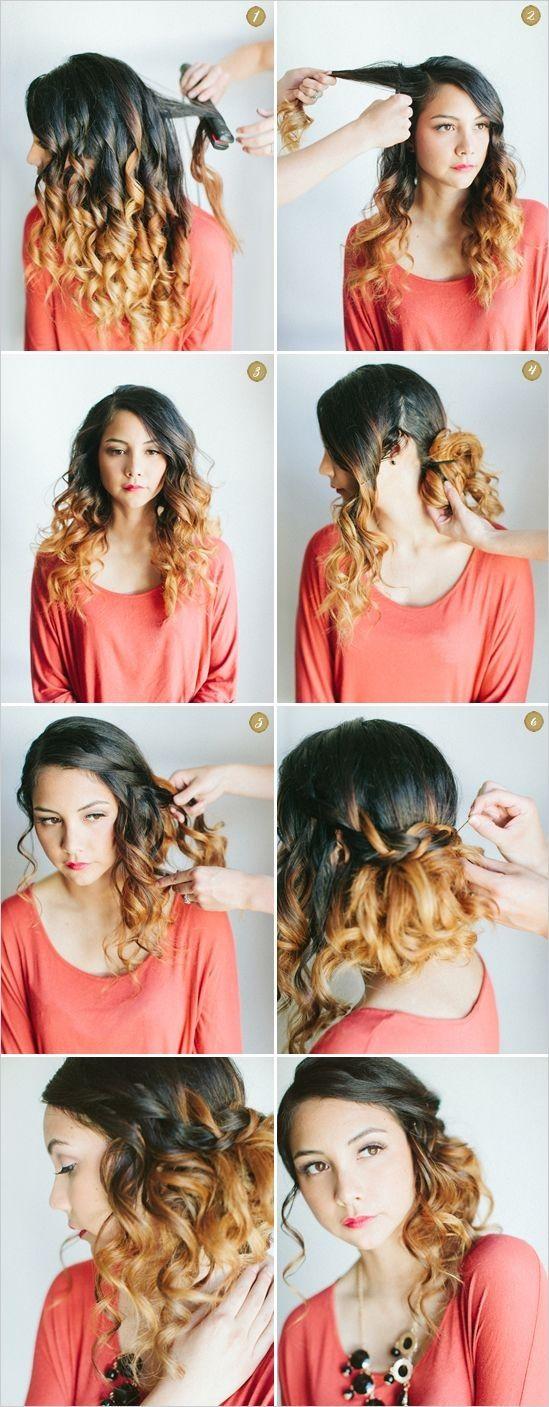 Elegantna boho frizura