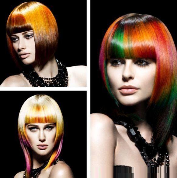 Šarene frizure