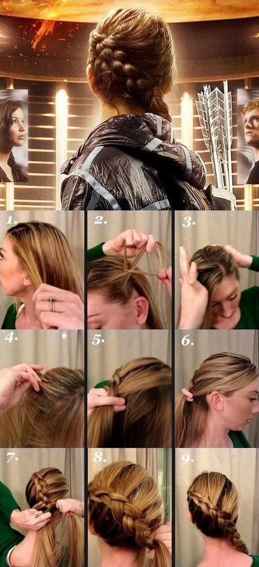 Katniss frizura