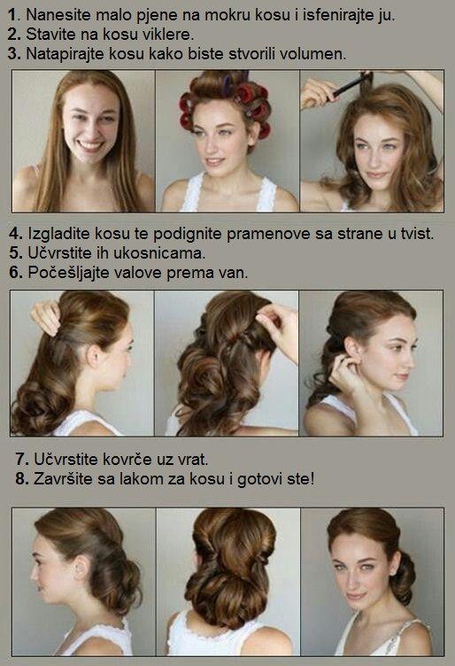Klasična frizura pedestih