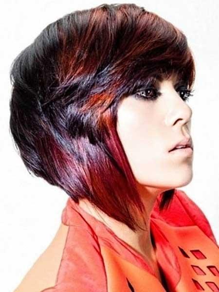 Zanimljive kratke obojene frizure - Frizure.hr - Tražite