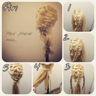 Pletena frizura