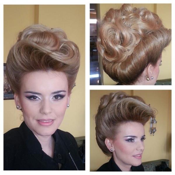 Velika svečana frizura