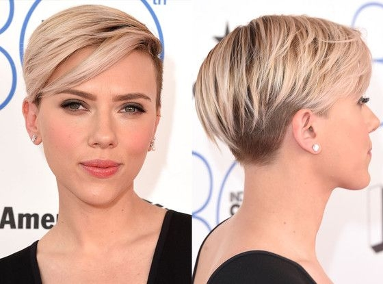 Kratka poznata frizura