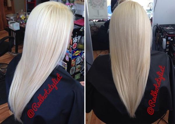 Duga plava kosa