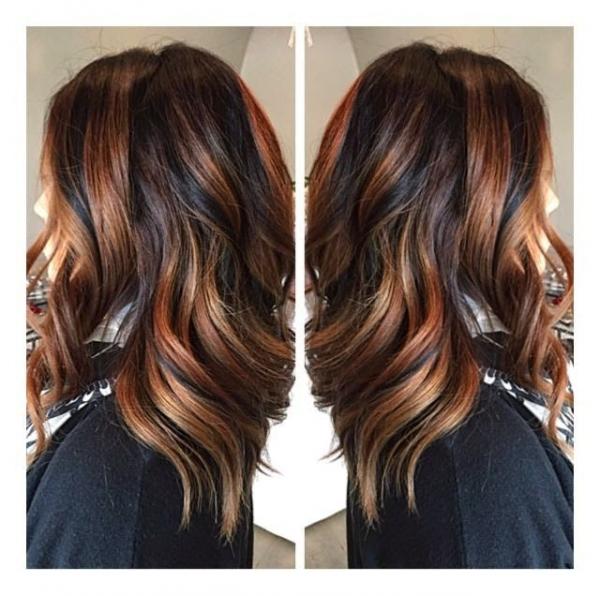 Prekrasna dubinska boja kose