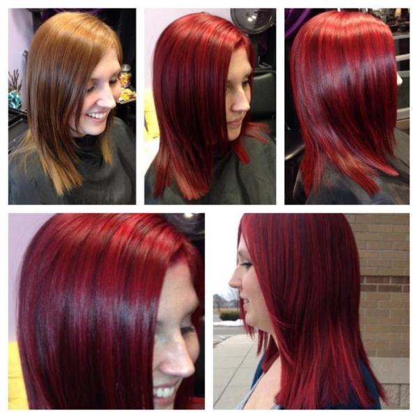 Izražajna roza boja kose