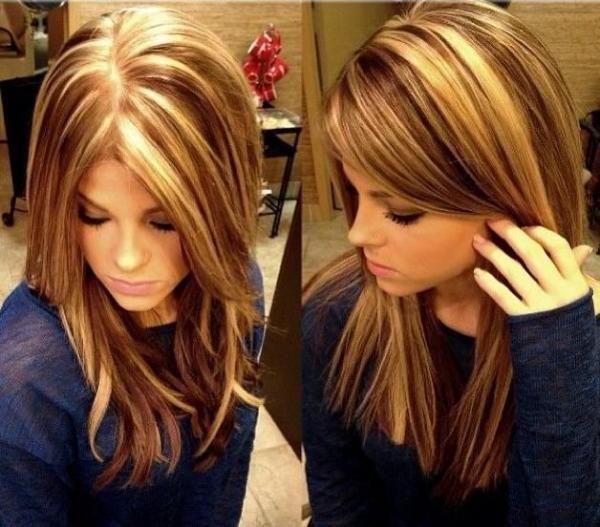 Jednostavna i lijepa frizura sa pramenovima