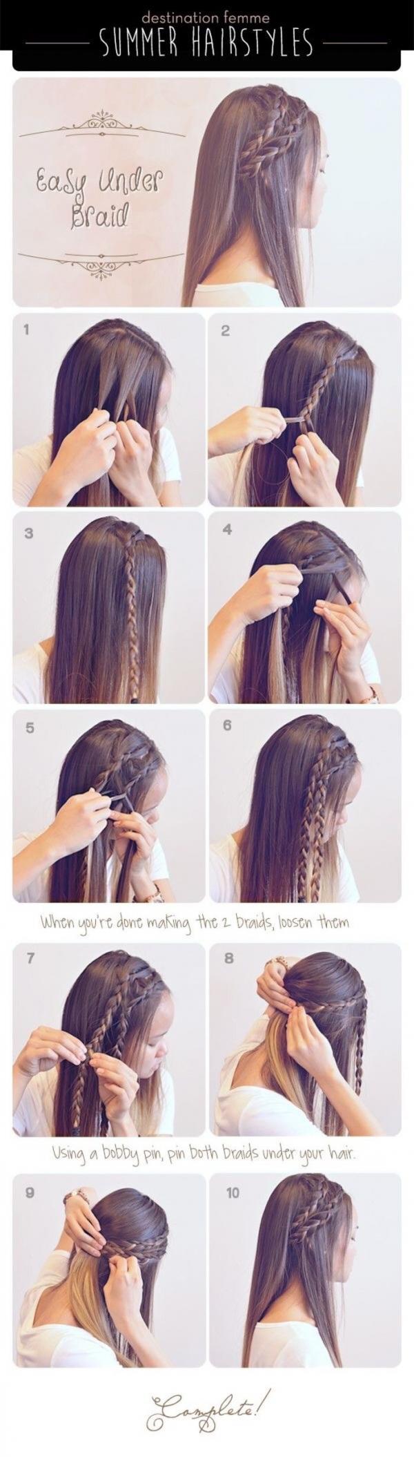 Jednostavna frizura za svaki dan
