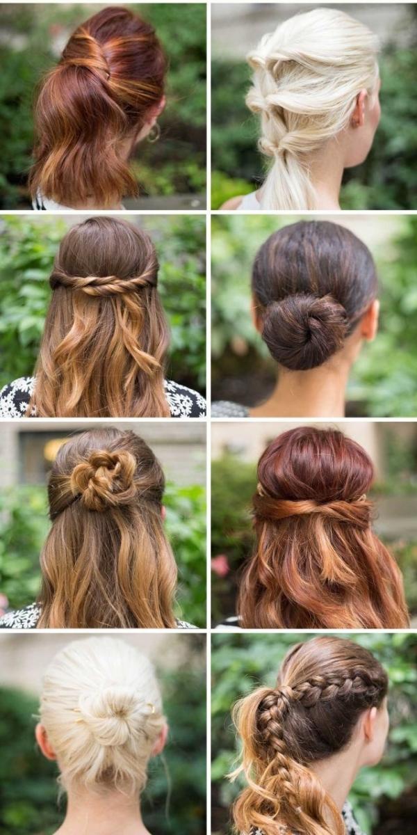 Jednostavne lijepe frizure