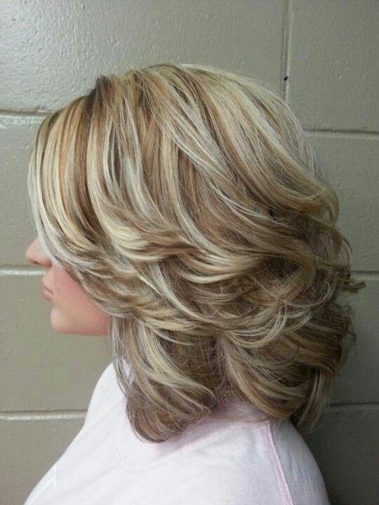 Gusta slojevita frizura