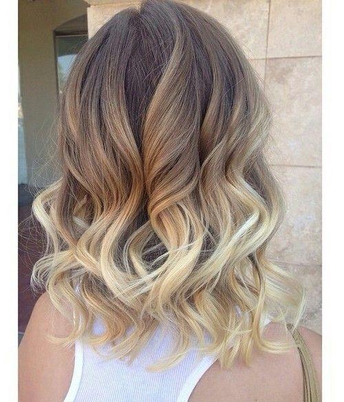 Romantična ombre frizura