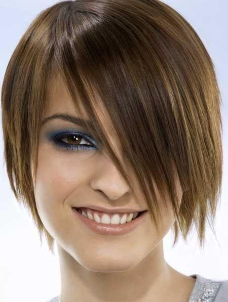 Ravna kratka frizura