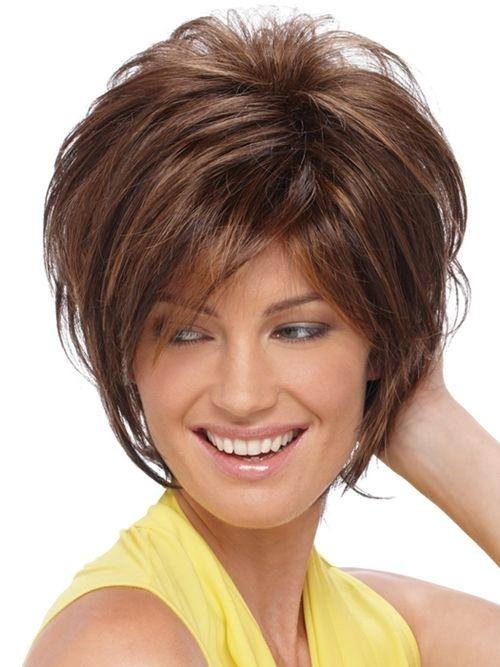Pufasta kratka frizura