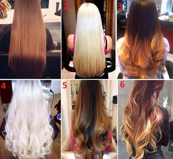 Duga kosa i njene boje