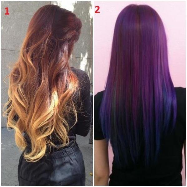 Chic ili rock frizura