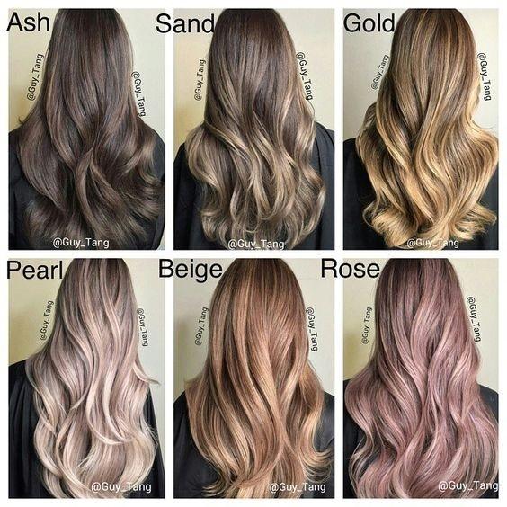 Šest vrsta boja