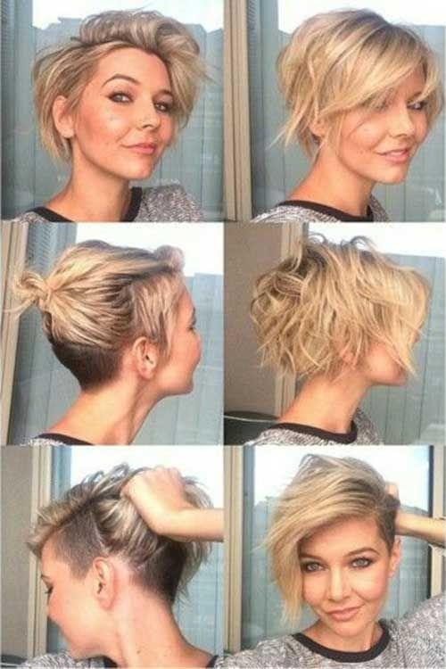 Kratka frizura i puno frizura