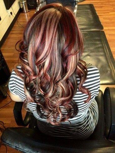 Više boja, jedna frizura