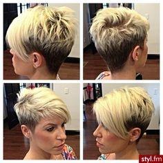 Asimetrična pixie frizura