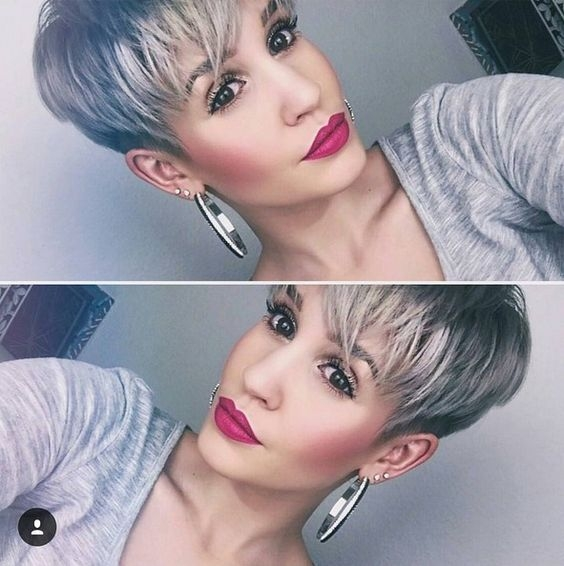 Siva pixie frizura