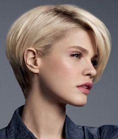 Kratka asimetrična frizura