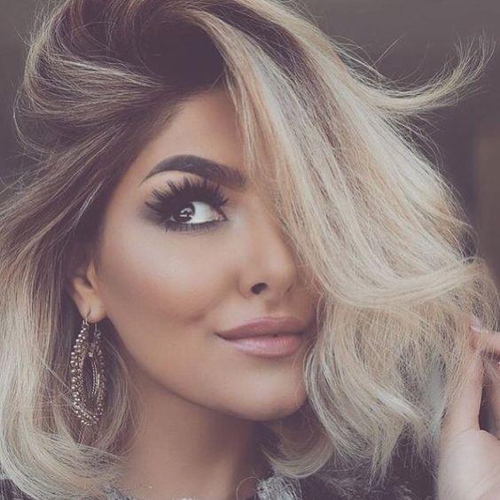 Duga platinasta kosa
