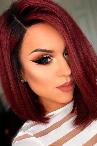 Kratke crvene frizure