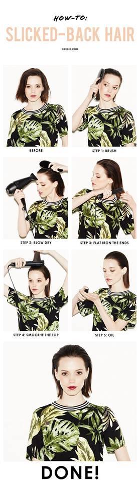 Zalizana frizura