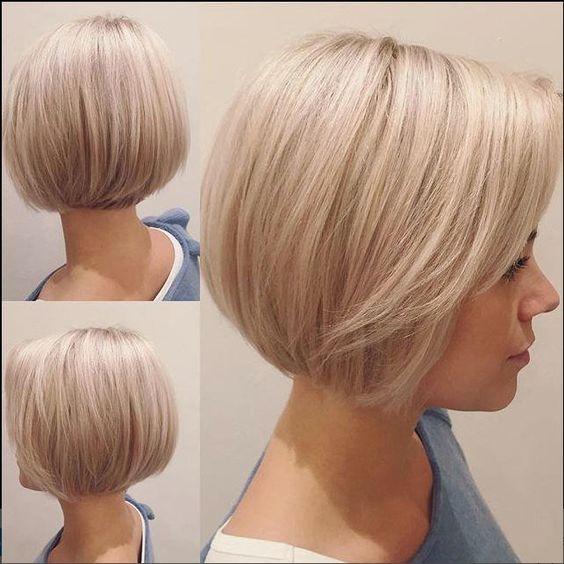 Mladenački kratka frizura