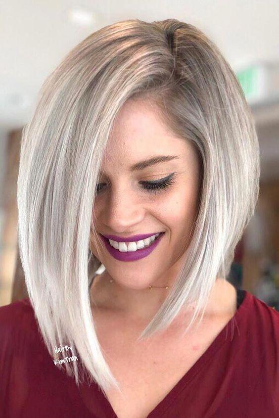 Laskava frizura za tanku kosu