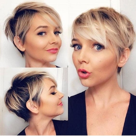 Savešena frizura za slabu kosu