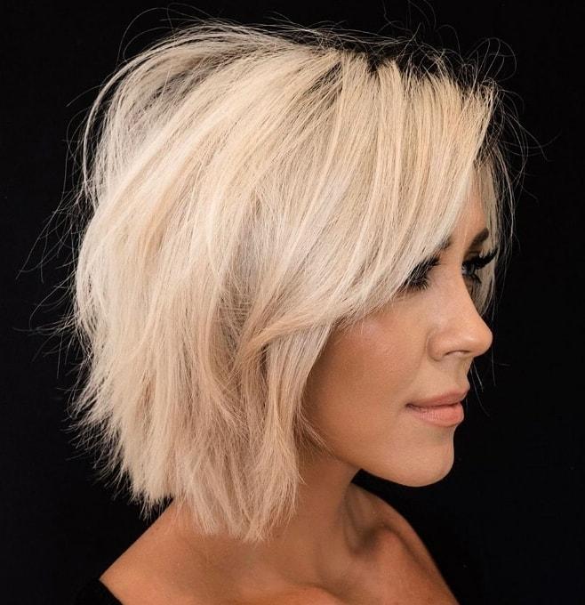 Frizura za tanku kosu koja se brzo masti
