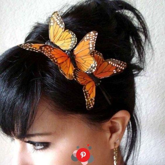 Povratak trendova iz 90-tih: ukosnica-leptir!