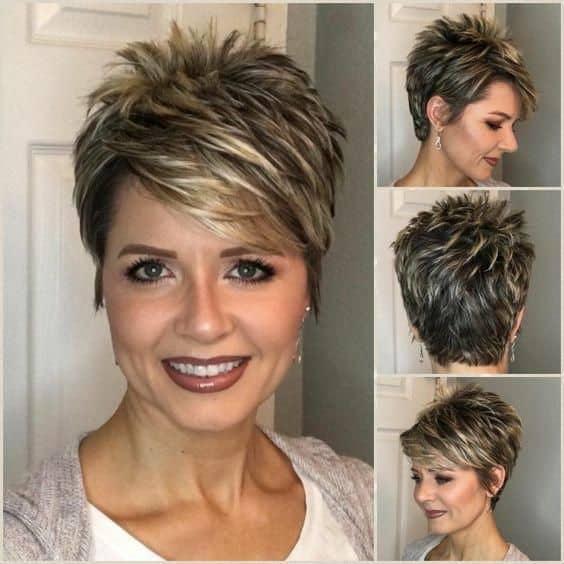 Kvalitetno ošišana kratka frizura