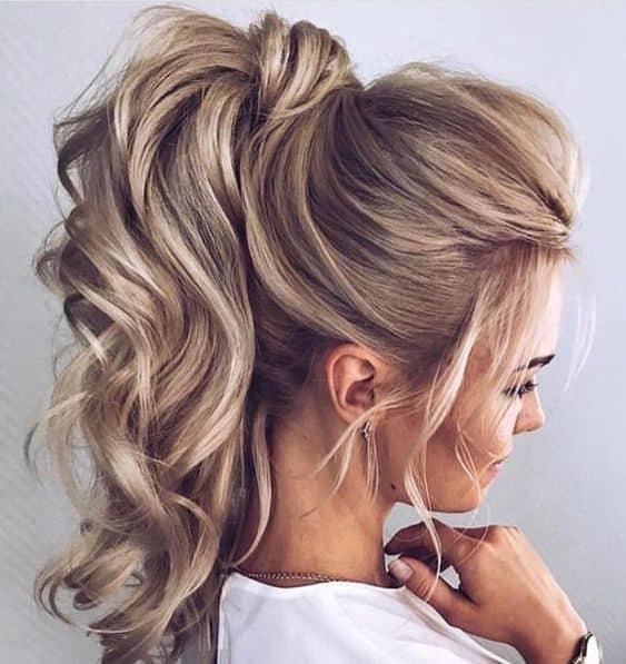 Visoki rep vrlo je elegantna frizura